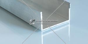 Профиль алюминиевый П-образный